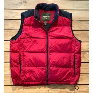 Eddie Bauer Down filled zip Puffer Vest